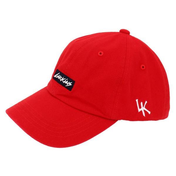 キャップ メンズ 帽子 ベースボールキャップ ローキャップ LARKINS ラーキンス 無地 コットン 綿 刺繍 ロゴ 文字 ゴルフ 野球帽 ブランド 男女兼用 ユニセックス|menscasual|19