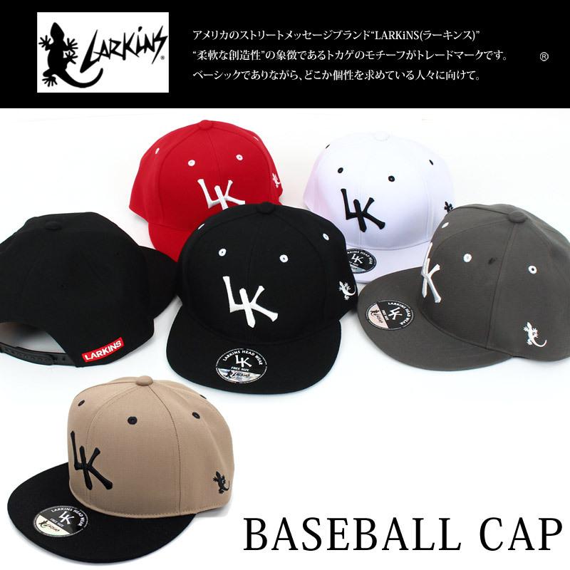 ラーキンスLARKINS キャップ メンズ 帽子 ベースボールキャップ ローキャップ 無地 コットン 綿 刺繍 ロゴ 文字 ゴルフ 野球帽 ブランド,LKTM-102