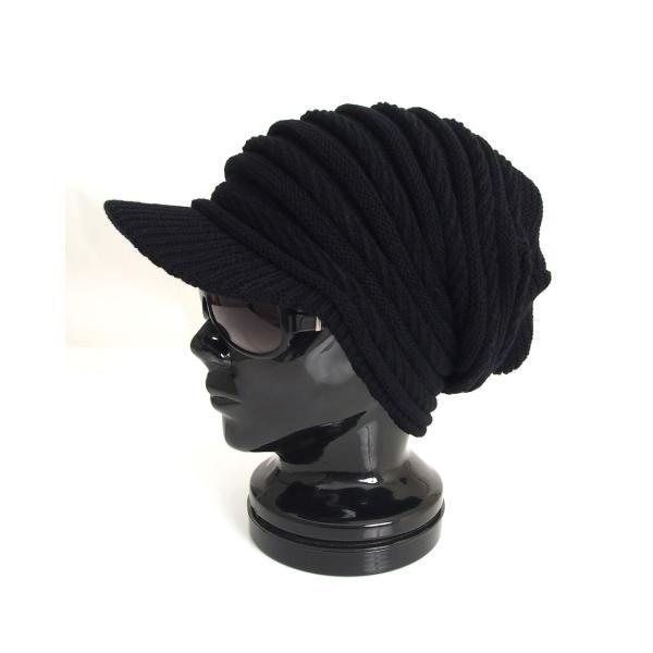 ニット帽 メンズ ニットキャップ つば付きニット帽 ニットキャスケット 帽子 レディース キャップ ファッション小物 秋冬 防寒 セール|menscasual|21