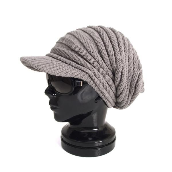 ニット帽 メンズ ニットキャップ つば付きニット帽 ニットキャスケット 帽子 レディース キャップ ファッション小物 秋冬 防寒 セール|menscasual|22