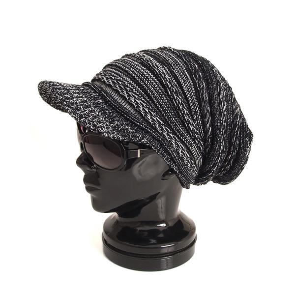 ニット帽 メンズ ニットキャップ つば付きニット帽 ニットキャスケット 帽子 レディース キャップ ファッション小物 秋冬 防寒 セール|menscasual|23