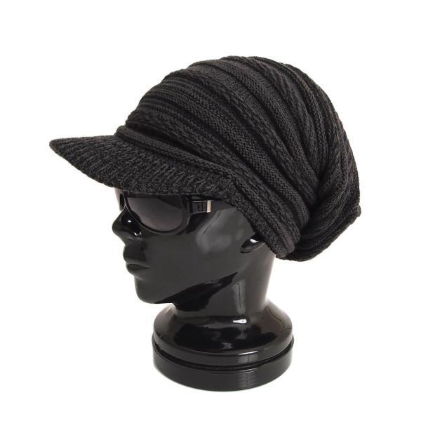 ニット帽 メンズ ニットキャップ つば付きニット帽 ニットキャスケット 帽子 レディース キャップ ファッション小物 秋冬 防寒 セール|menscasual|24