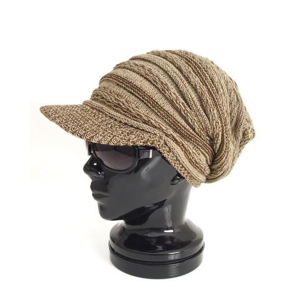 ニット帽 メンズ ニットキャップ つば付きニット帽 ニットキャスケット 帽子 レディース キャップ ファッション小物 秋冬 防寒 セール|menscasual|25