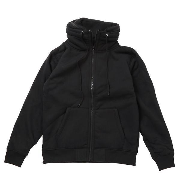 ミリタリージャケット メンズ ジャケット ブルゾン 裏ボア 裏起毛 スウェット素材 アウター 無地 長袖 秋冬|menscasual|15