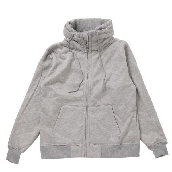 ミリタリージャケット メンズ ジャケット ブルゾン 裏ボア 裏起毛 スウェット素材 アウター 無地 長袖 秋冬|menscasual|16