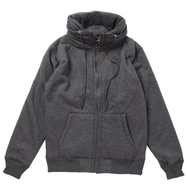 ミリタリージャケット メンズ ジャケット ブルゾン 裏ボア 裏起毛 スウェット素材 アウター 無地 長袖 秋冬|menscasual|17