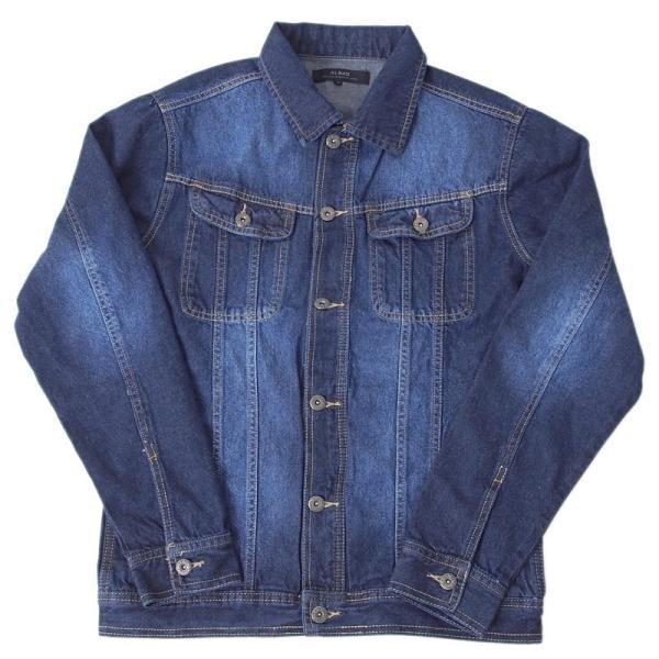 デニムジャケット メンズ Gジャン ジージャン ブルゾン ビンテージ加工 ユーズド加工 アウター|menscasual|19