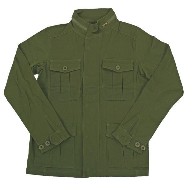 ミリタリージャケット メンズ ブルゾン M-65 M65ジャケット ストレッチ素材 無地 フライトジャケット アウター ジャンパー menscasual 19