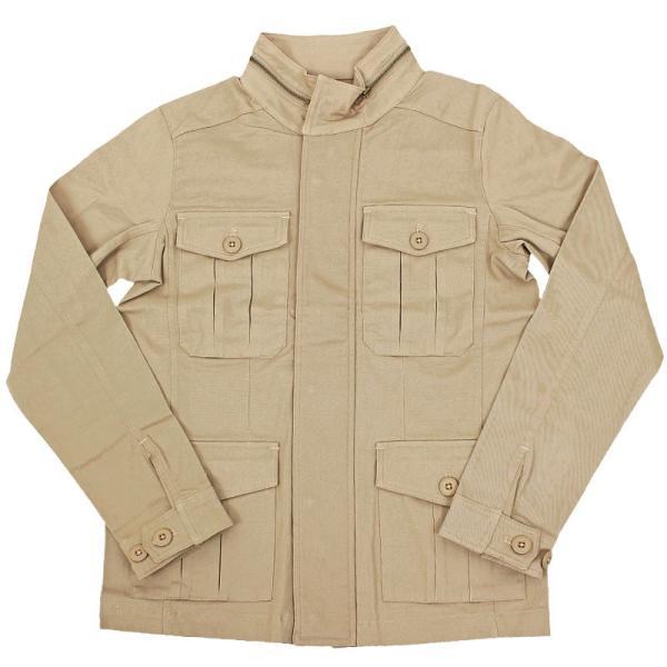 ミリタリージャケット メンズ ブルゾン M-65 M65ジャケット ストレッチ素材 無地 フライトジャケット アウター ジャンパー menscasual 20