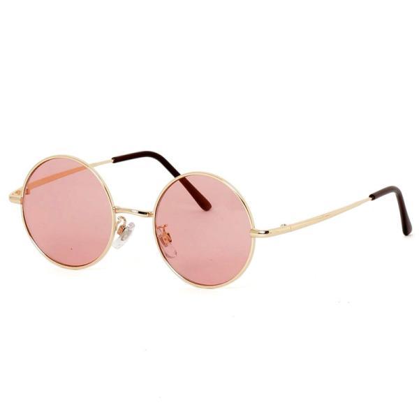 サングラス メンズ カラーレンズ 伊達メガネ 眼鏡 伊達めがね 丸メガネ ラウンドフレーム おしゃれ 人気 スモーク ライトカラー ブルー|menscasual|21