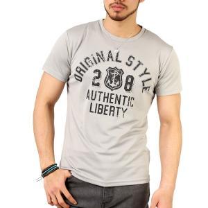 Tシャツ メンズ 吸汗速乾 ドライメッシュ素材 アメカジ Tシャツ カレッジ プリント TEE おしゃれ|mensfashion|31