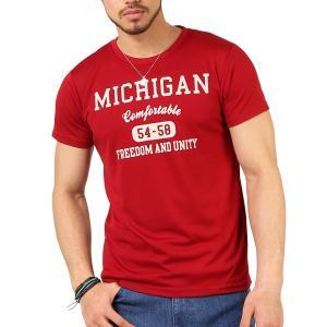 Tシャツ メンズ 吸汗速乾 ドライメッシュ素材 アメカジ Tシャツ カレッジ プリント TEE おしゃれ|mensfashion|19
