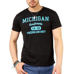 Tシャツ メンズ 吸汗速乾 ドライメッシュ素材 アメカジ Tシャツ カレッジ プリント TEE おしゃれ|mensfashion|22