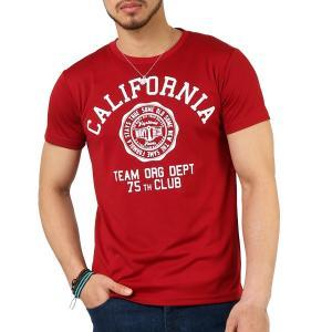 Tシャツ メンズ 吸汗速乾 ドライメッシュ素材 アメカジ Tシャツ カレッジ プリント TEE おしゃれ|mensfashion|24