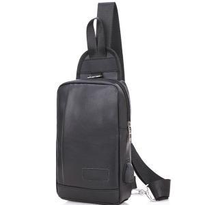 ボディバッグ メンズ レディース かばん USBポート搭載 ケーブル付 ミニバッグ 軽量 おでかけ おしゃれ|mensfashion|24