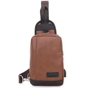 ボディバッグ メンズ レディース かばん USBポート搭載 ケーブル付 ミニバッグ 軽量 おでかけ おしゃれ|mensfashion|25