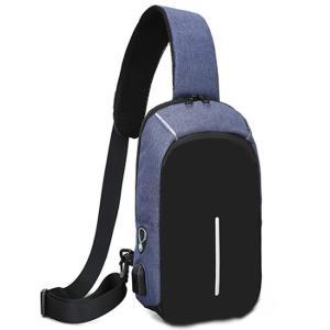 ボディバッグ メンズ レディース かばん USBポート搭載 ケーブル付 ミニバッグ 軽量 おでかけ おしゃれ|mensfashion|31
