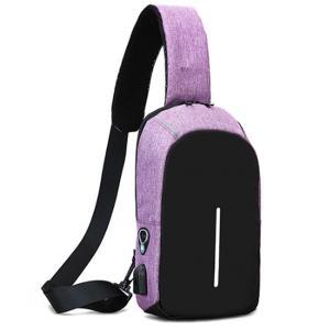 ボディバッグ メンズ レディース かばん USBポート搭載 ケーブル付 ミニバッグ 軽量 おでかけ おしゃれ|mensfashion|32