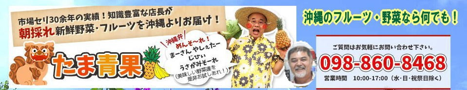 沖縄特産品販売の専門店。沖縄の元気・健康をお届けします。