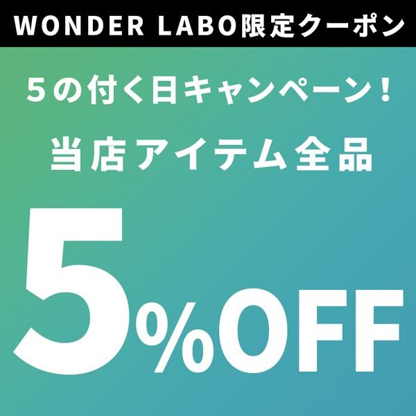 【5のつく日限定】全品5%OFFクーポン!