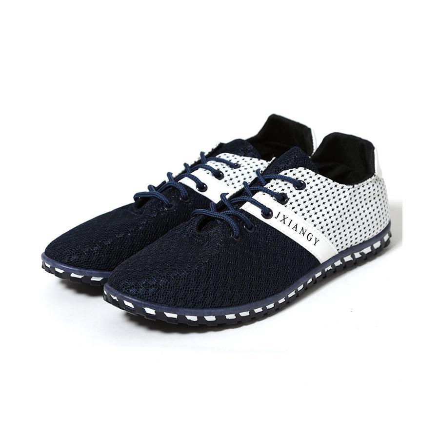 スニーカー メンズ メッシュ カジュアル 靴 おしゃれ 夏 20代 30代 40代 50代|menz-style|20