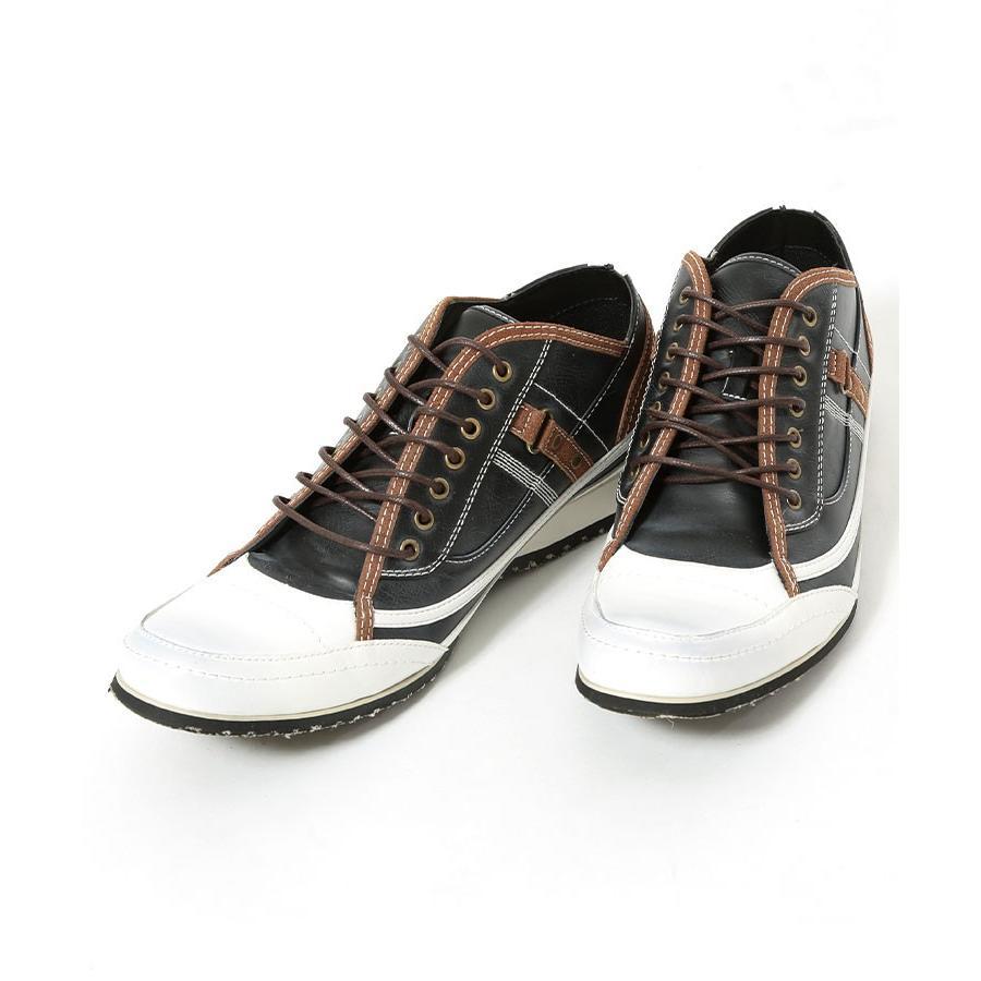 スニーカー メンズ 靴 シューズ カジュアル ローカット おしゃれ 30代 40代 50代 デニム スウェット|menz-style|18
