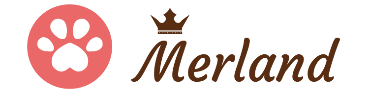 ワンちゃんの楽園 メルランド ロゴ