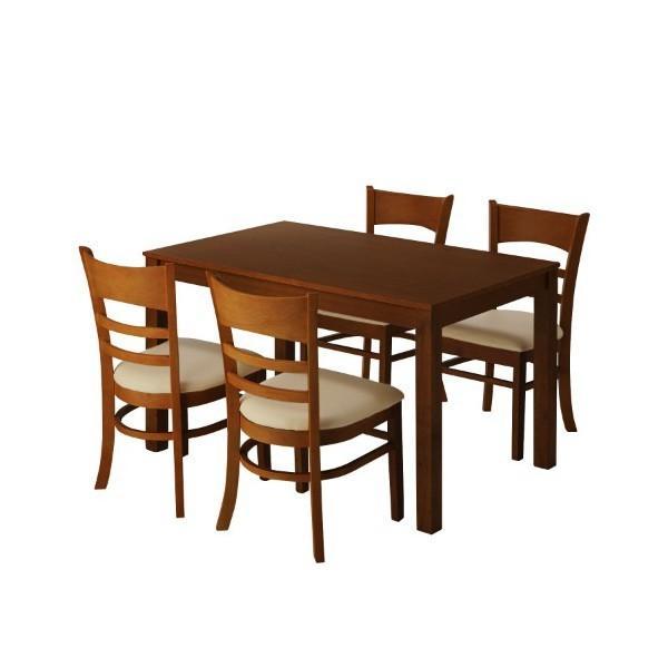 ダイニングセット ダイニングテーブル 5点セット 送料無料|meuble|07