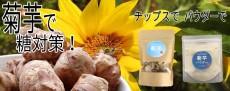 菊芋チップス・パウダー