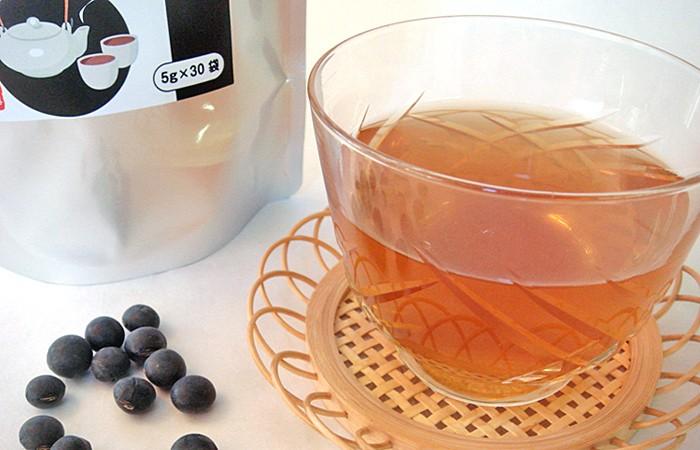 冷やして飲んでも美味しい黒豆茶