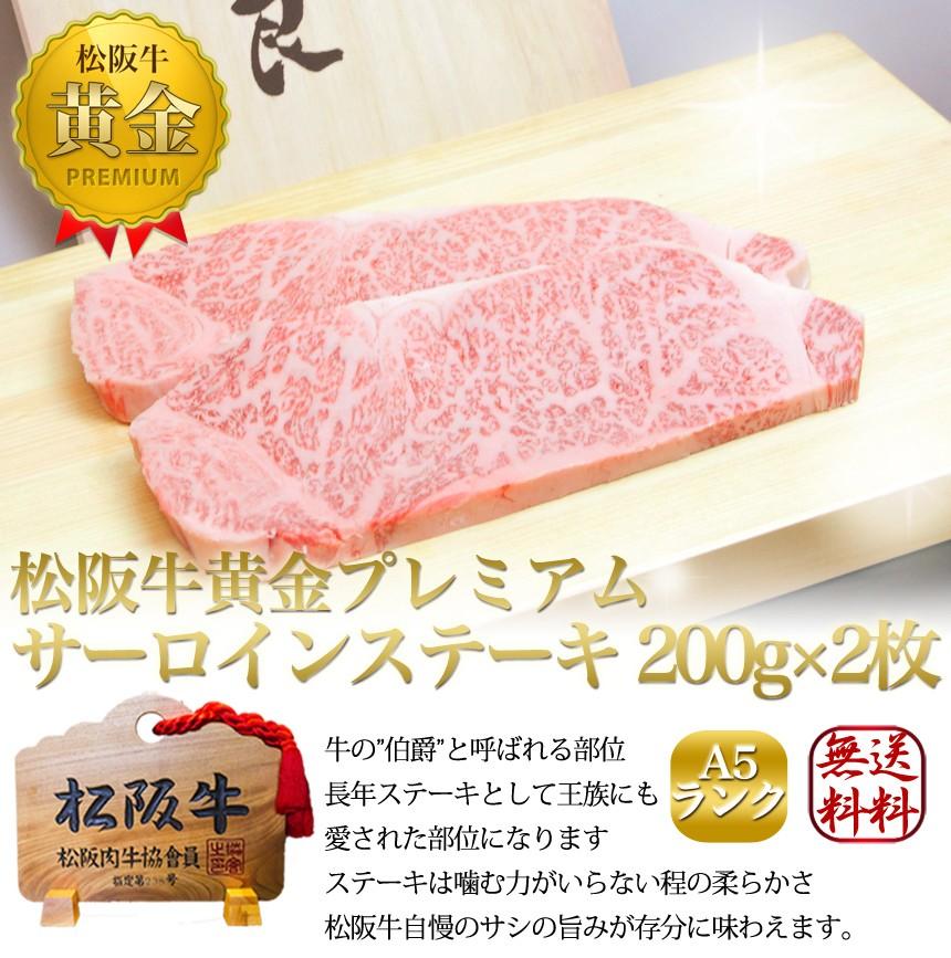 松阪牛A5サーロインステーキ タイトル