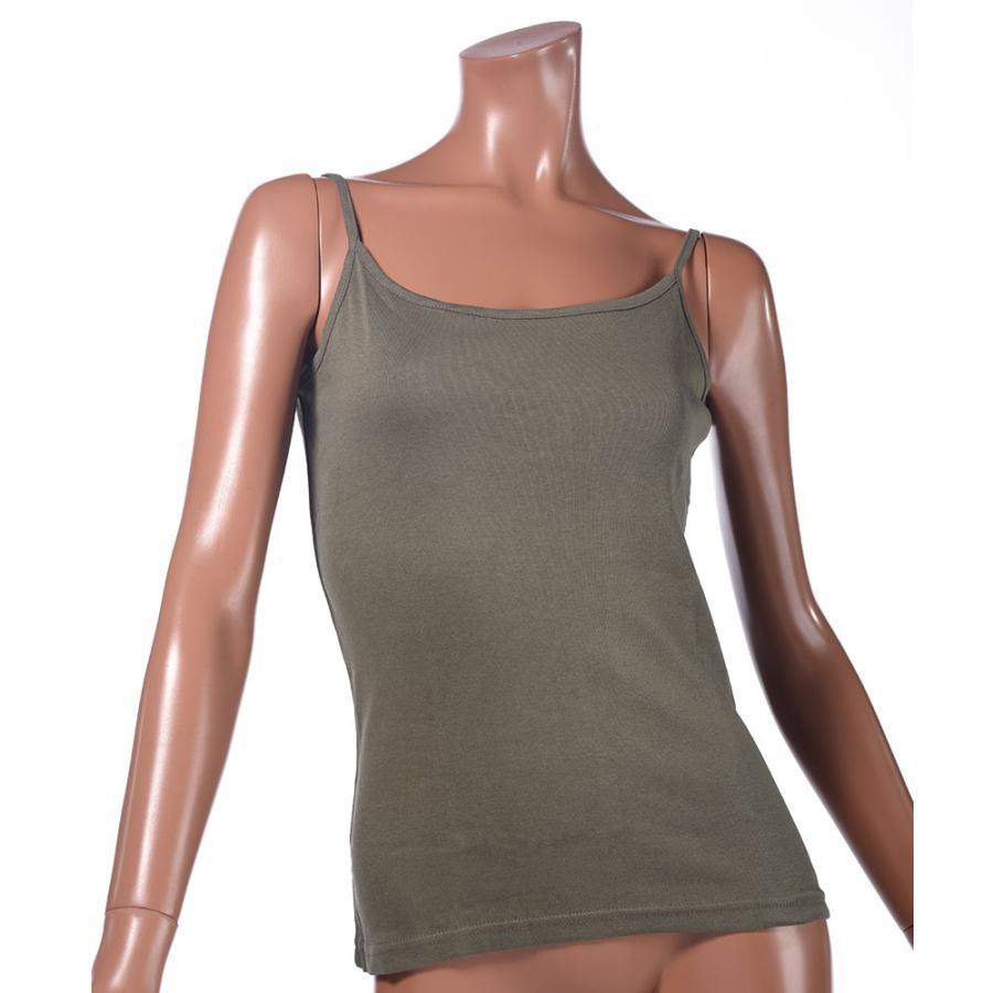 タンクトップ キャミソール オーガニックコットン 100 敏感肌 肌に優しい ストレスフリー カットソー ラウンドネック ノースリーブ 有機栽培 敏感|mignonlindo|20