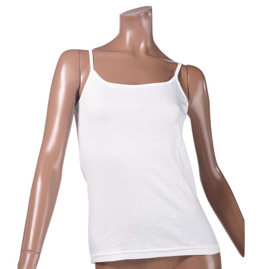 タンクトップ キャミソール オーガニックコットン 100 敏感肌 肌に優しい ストレスフリー カットソー ラウンドネック ノースリーブ 有機栽培 敏感|mignonlindo|17