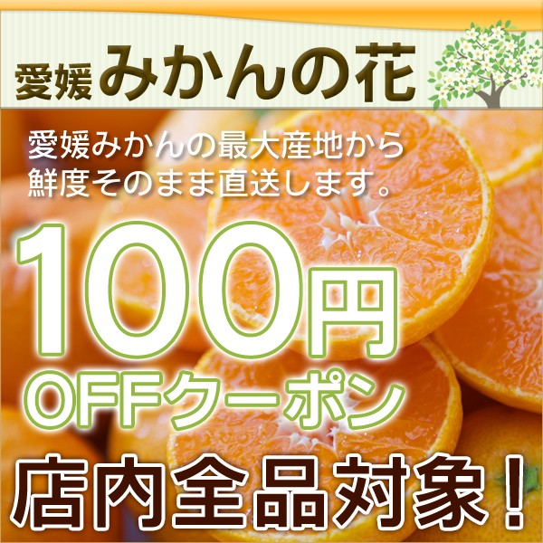みかんの花の 100円OFFクーポン!