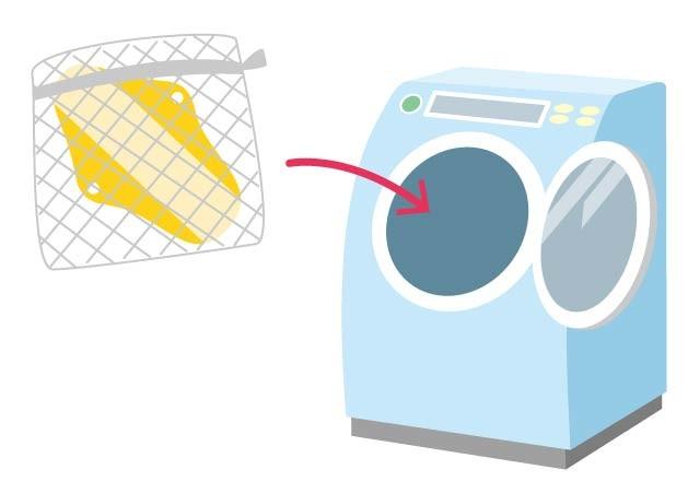 布ナプキンの洗濯方法