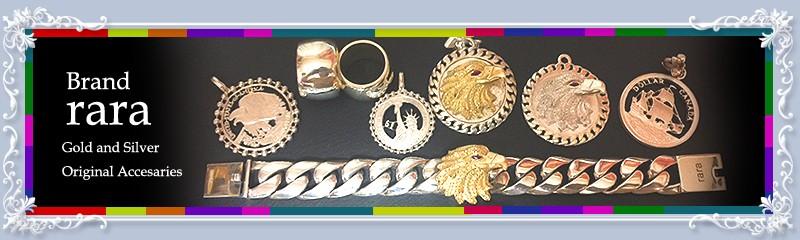 rara 貴金属アクセサリー、リング、ネックレス