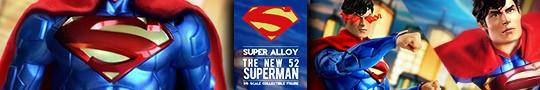 SUPER ALLOY 1/6コレクティブルフィギュア ザ・ニュー52 スーパーマン(THE NEW52 SUPERMAN )