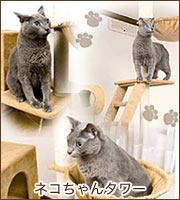 ネコちゃんタワー