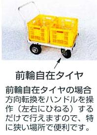 CHJ-700後輪自在タイヤ説明