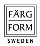 スウェーデン FARG&FORM フェルグ&フォルム MOZ モズシリーズ デニム スリッパ