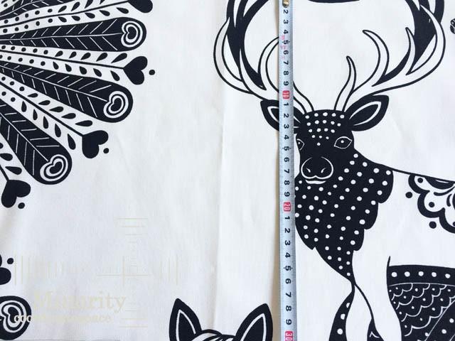 北欧 アルビッドソンズ スウェーデン テキスタイル ファブリック ペガサス ブラック