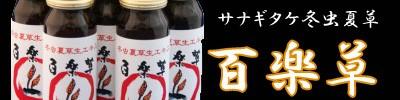 百楽草シリーズ サナギダケ 冬虫夏草