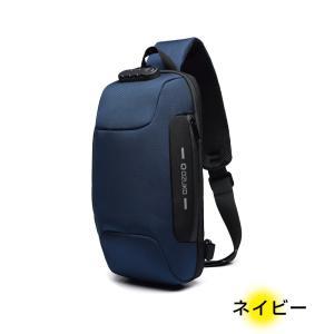 ボディバッグ メンズ 大容量 USBポート スマホ充電 斜め掛け 盗難防止 防水29 Lino Ulu