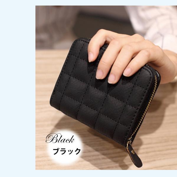 ミニ財布 小さい 二つ折り ラウンドファスナー レディース コンパクト みにさいふ miriimerii 10