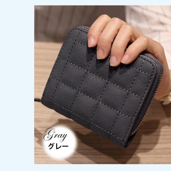 ミニ財布 小さい 二つ折り ラウンドファスナー レディース コンパクト みにさいふ miriimerii 11