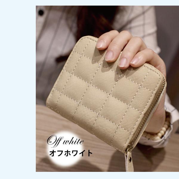 ミニ財布 小さい 二つ折り ラウンドファスナー レディース コンパクト みにさいふ miriimerii 14