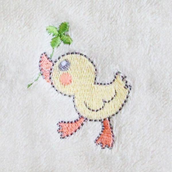 あすつく 送料無料 出産祝い 名前入り オーガニックコットン バスローブ ポンチョ 刺繍無料 ギフト 誕生日プレゼント ベビー 男の子 女の子 ランキング mirukuru 14