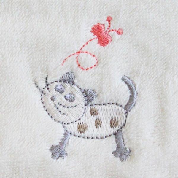 あすつく 送料無料 出産祝い 名前入り オーガニックコットン バスローブ ポンチョ 刺繍無料 ギフト 誕生日プレゼント ベビー 男の子 女の子 ランキング mirukuru 10