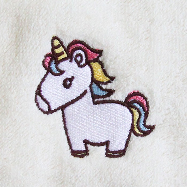あすつく 送料無料 出産祝い 名前入り オーガニックコットン バスローブ ポンチョ 刺繍無料 ギフト 誕生日プレゼント ベビー 男の子 女の子 ランキング mirukuru 11
