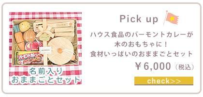ピックアップ(バーモントカレーままごとセット)